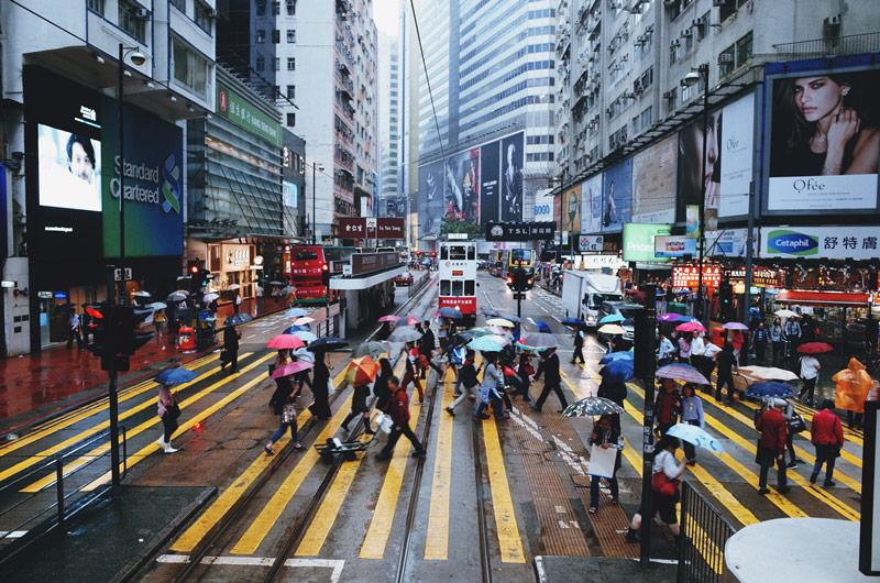 背包客GR拍香港